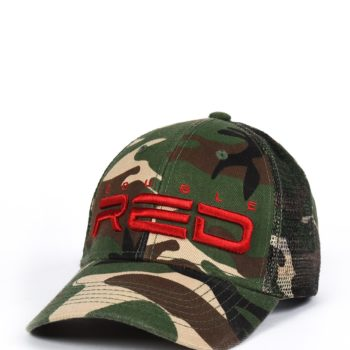 Šiltovka DOUBLE RED 3D Embroidery Logo Camo/Green