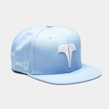 Šiltovka Twinzz - Snapback Dusty Blue / White